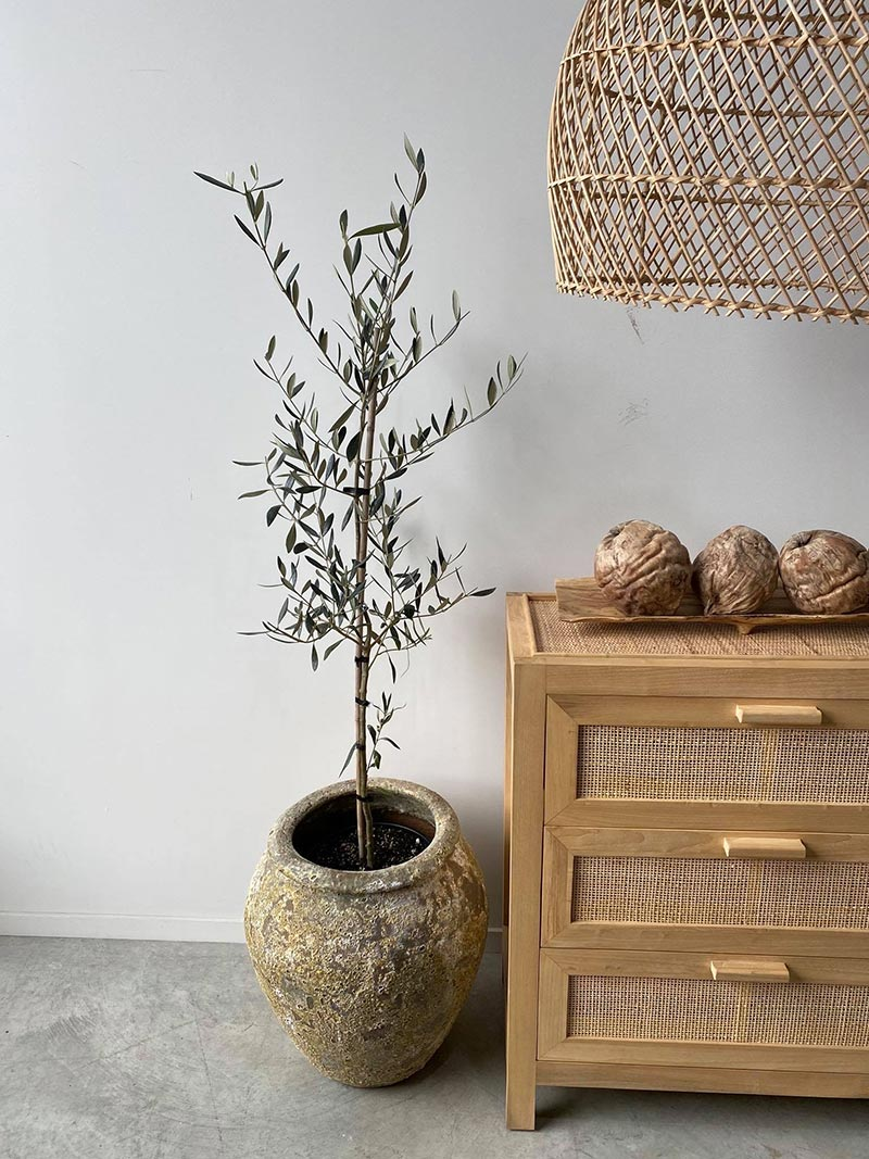 Atlantis Water Jar in Small size in styled room