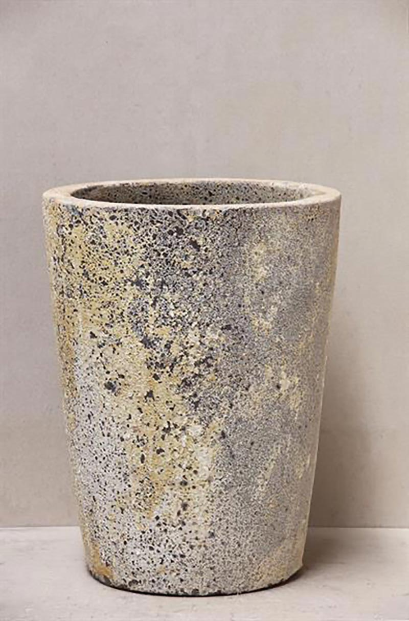 Atlantis Crucible Planter pot available to buy or hire from The Green Room